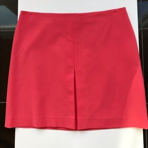 Ann Taylor inverted pleat a-line skirt
